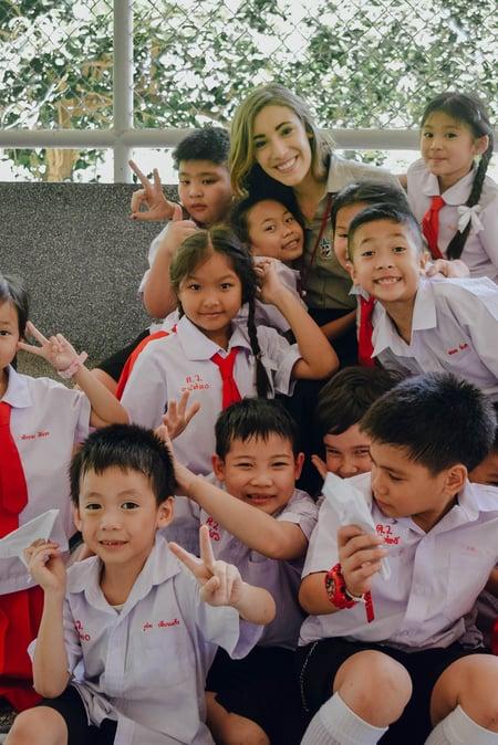 Molly Ryan - Chiang Mai, Thailand - Students - Classroom