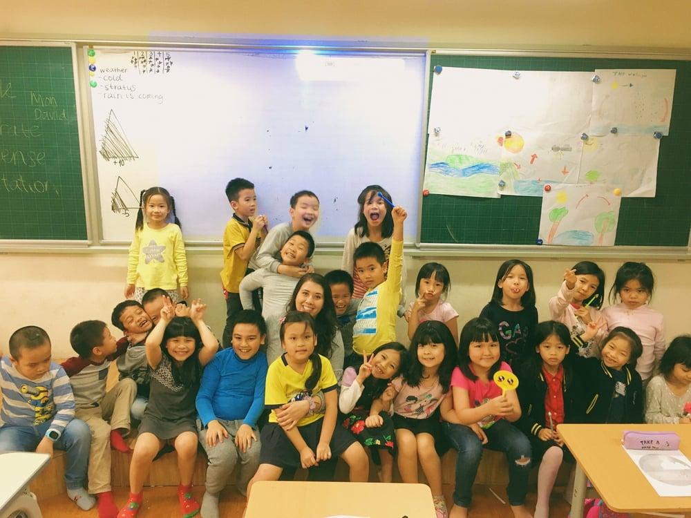 Natalie Bigelow - Hanoi, Vietnam - Classroom - Students 1