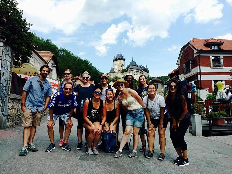 You can take your 4-Week Accredited TEFL Class in Prague, Czech Republic