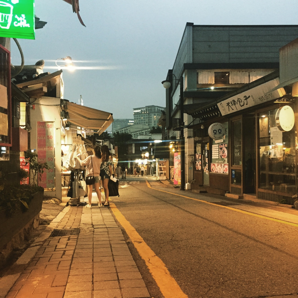 Samcheong-dong is a great neighborhood to visit in Seoul, South Korea