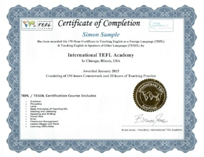 What is accreditation for tefl certification really all about international tefl academy certificate yadclub Gallery