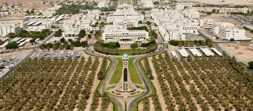 Teaching English at the Sultan Qaboos University in Oman