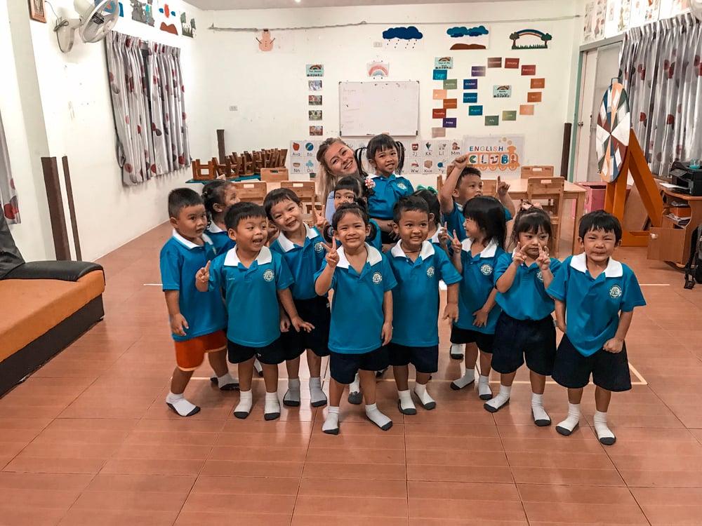 Sierra Duke - Sriracha, Thailand - Students - Classroom 2-1