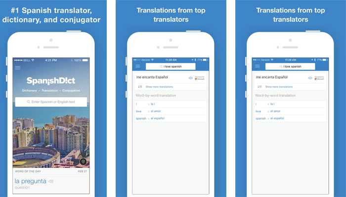 Spanish translation app for living in Mexico