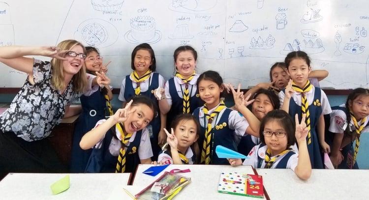 Geta a visa to Teach English in Thailand