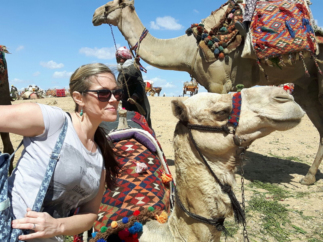 Tamie Arietta - Giza, Egypt