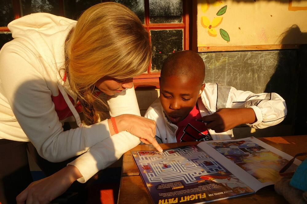 Volunteer while teaching English abroad TEFL