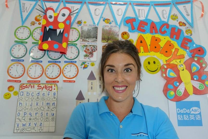 ITA alumna, Abigail Jacobs teaches English online with DaDaABC