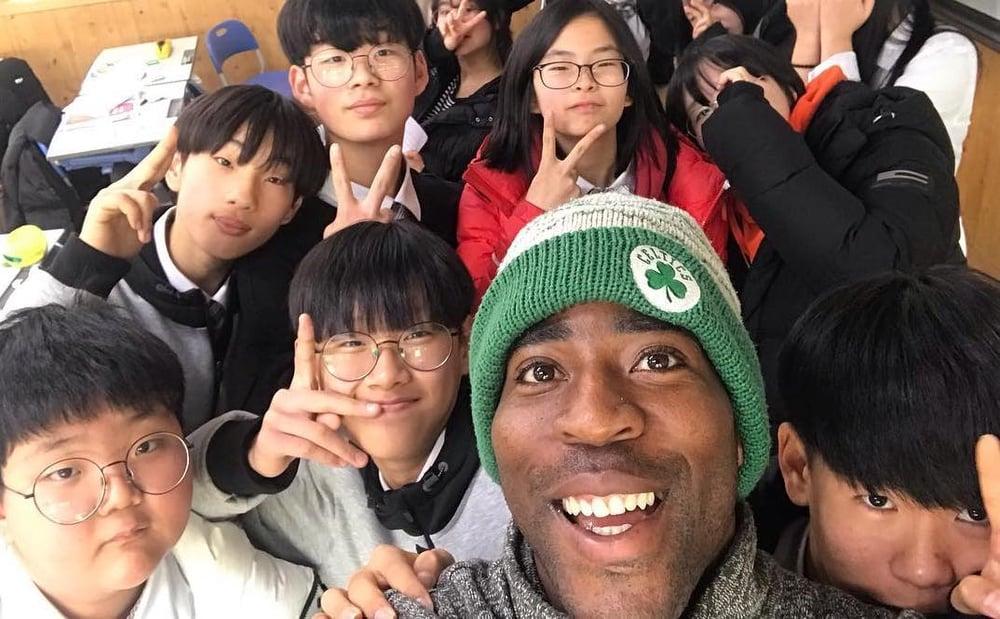 Tim Unaegbu - Geochang, South Korea - Students - Classroom - 2018-2