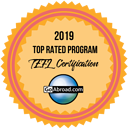 International TEFL Academy was named Top Rated TEFL Program for 2019 and 2020