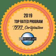 Top Rated Program - TEFL - 2019