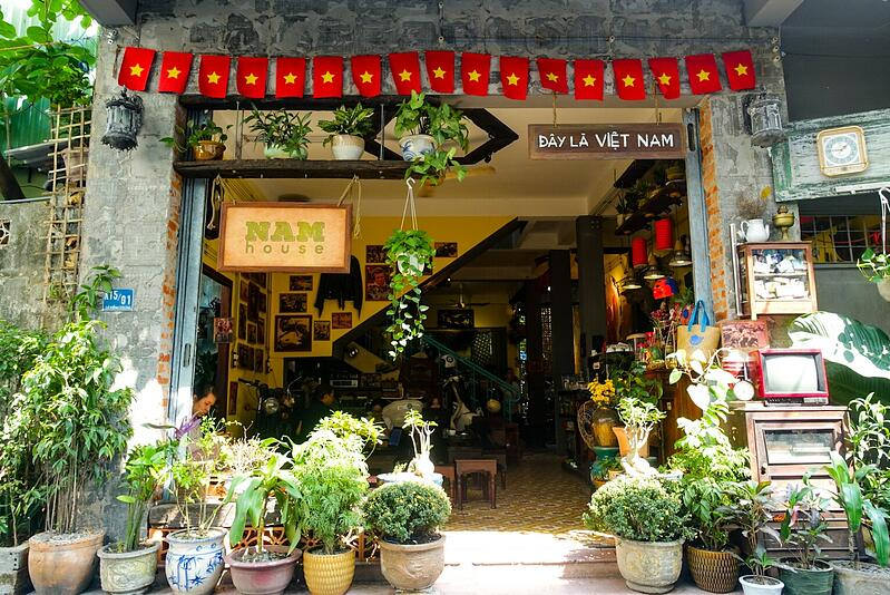 Teach English Online - Abigail's Favorite Coffee Shop in Vietnam to Work on Assessments