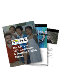 Download a free guide to TEFL Certification