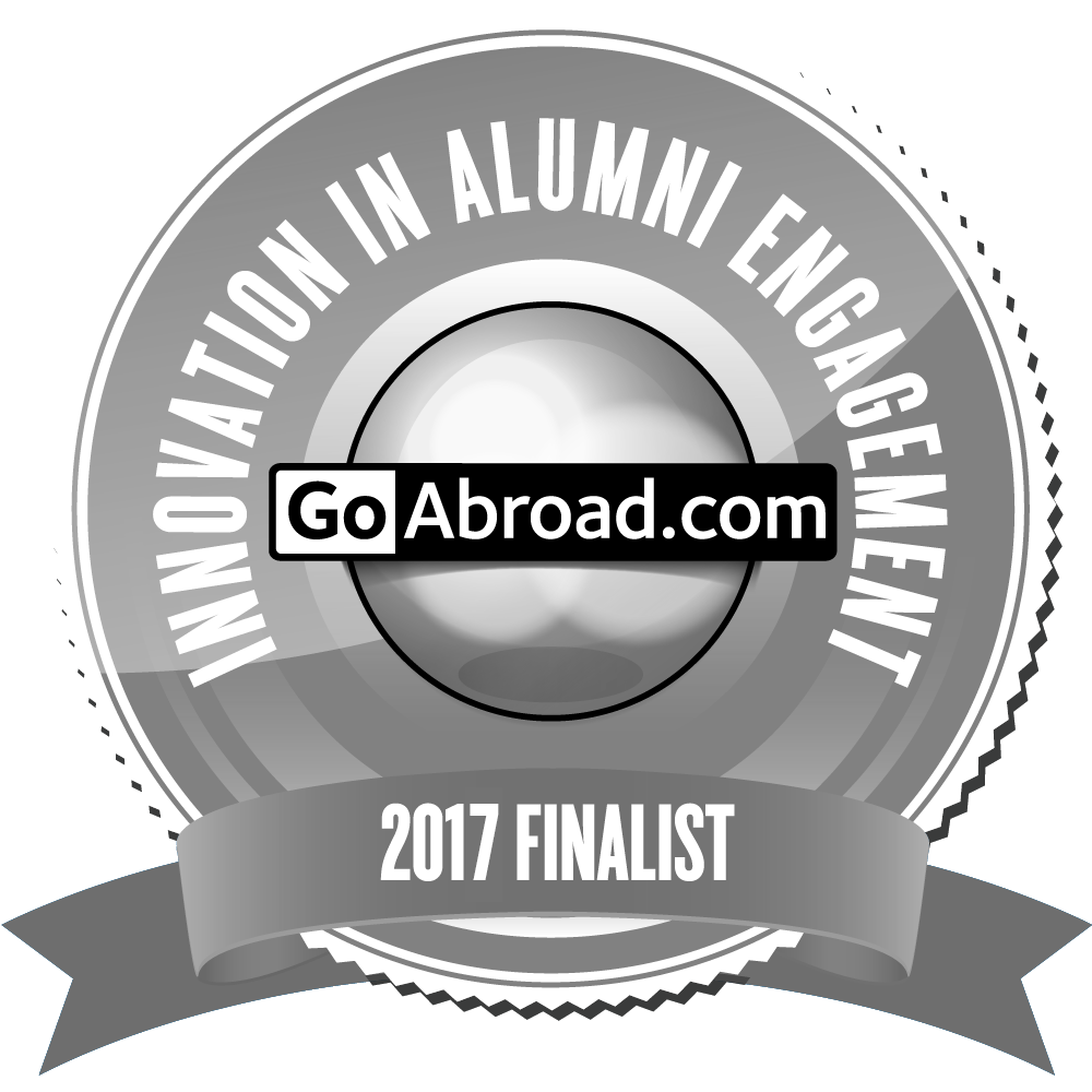 Nominated for Goabroad Awards in Innovation in Alumni Engagement 2017
