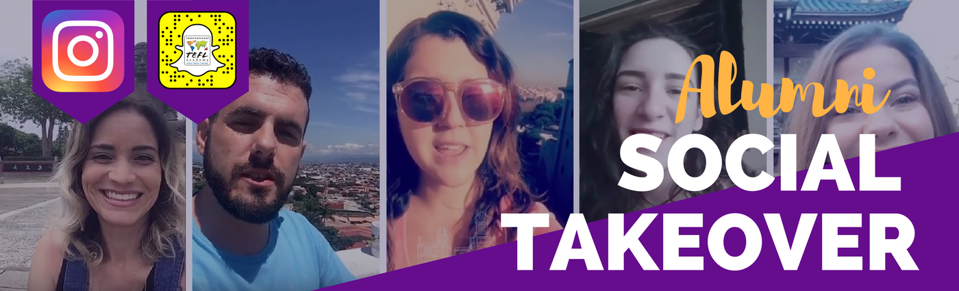 Alumni Social Takeover - Teach English Abroad