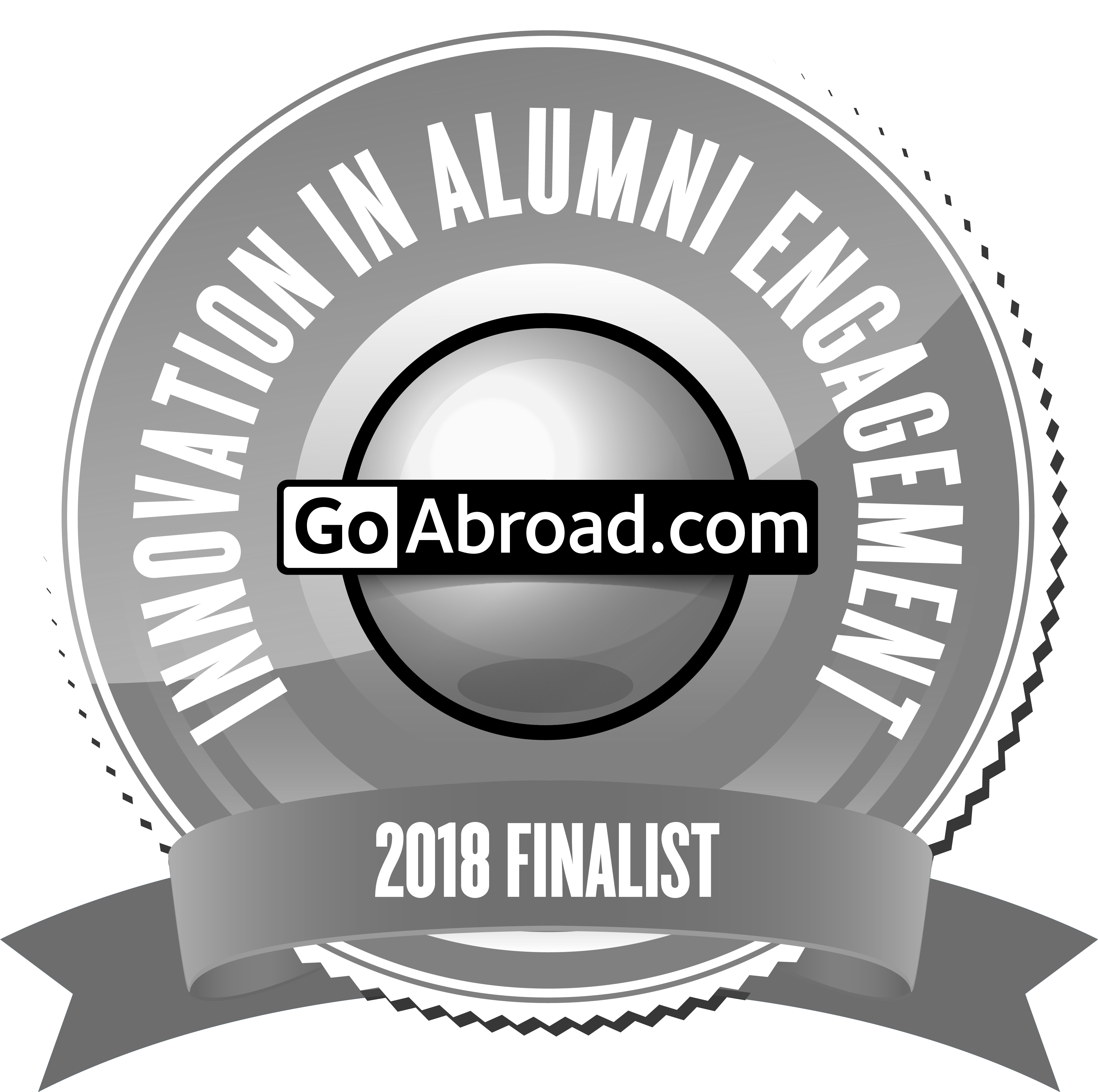 Nominated for Goabroad Awards in Innovation in Alumni Engagement 2018