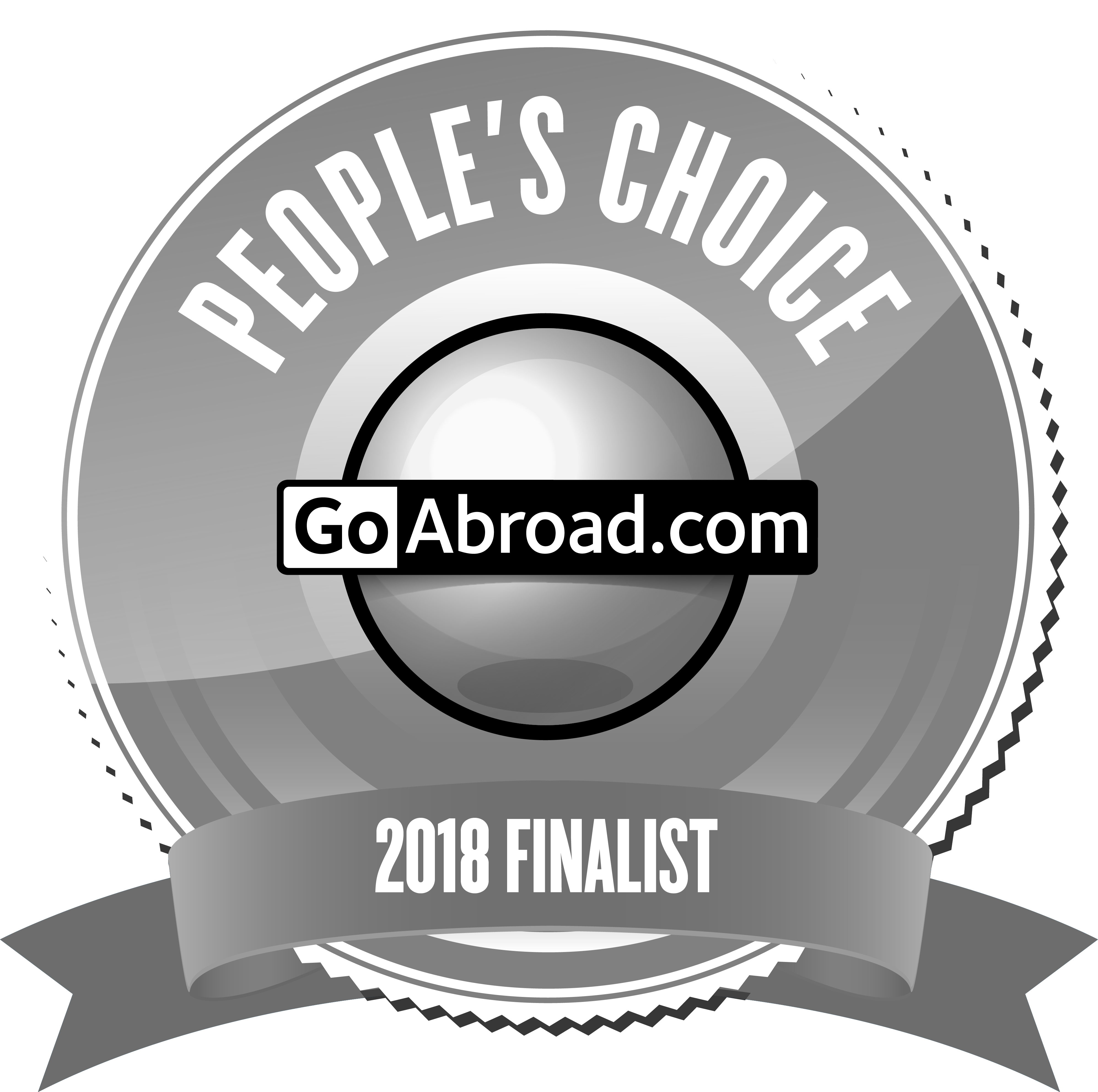 Nominated for Goabroad People's choice Award 2018