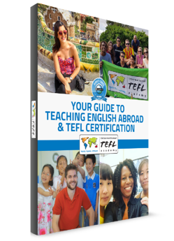 request your free starter guide for teaching English abroad