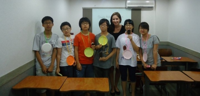 teach english abroad in Korea
