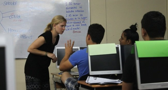 Gain international professional work experience teaching English abroad