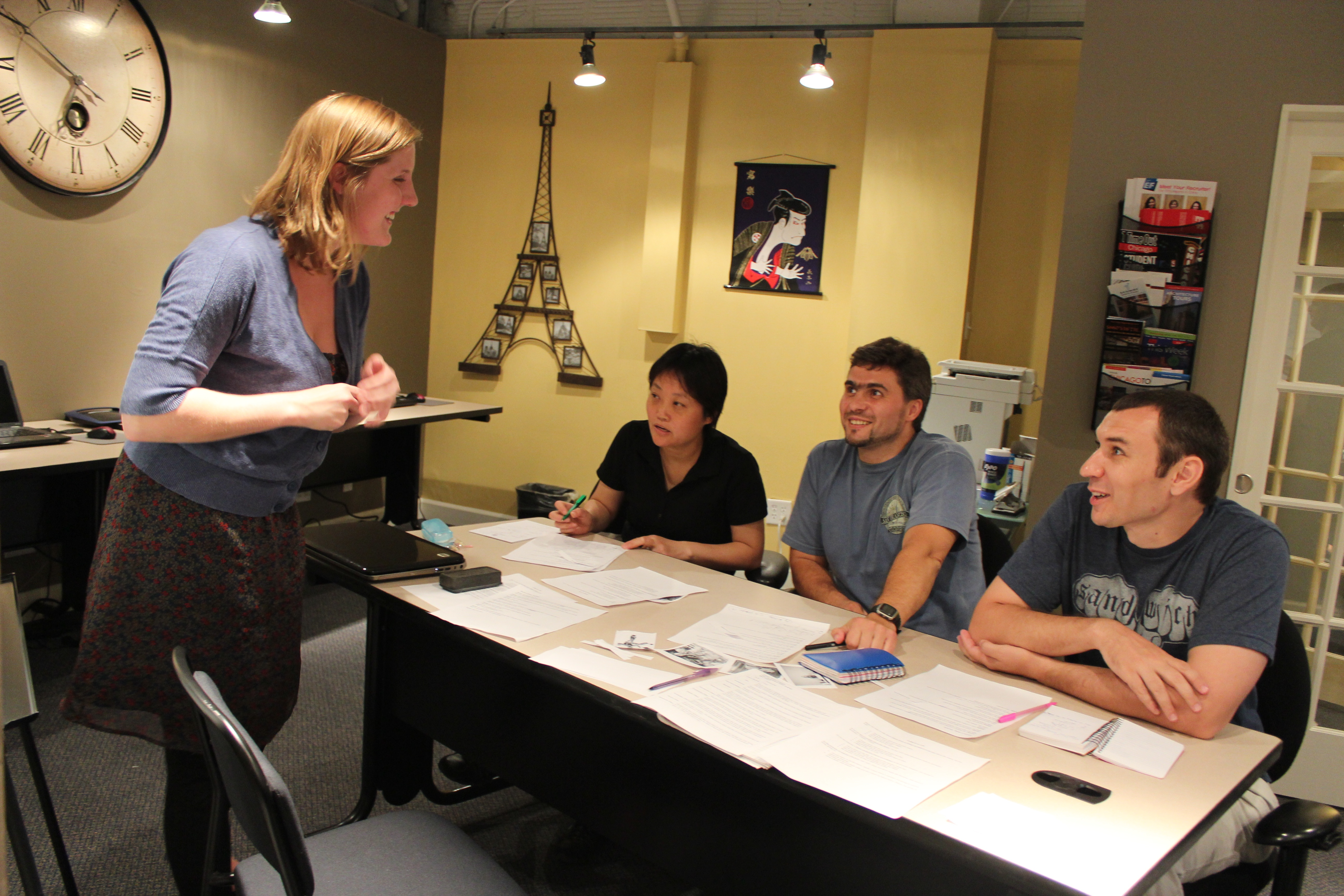 How to get a job overseas teaching English