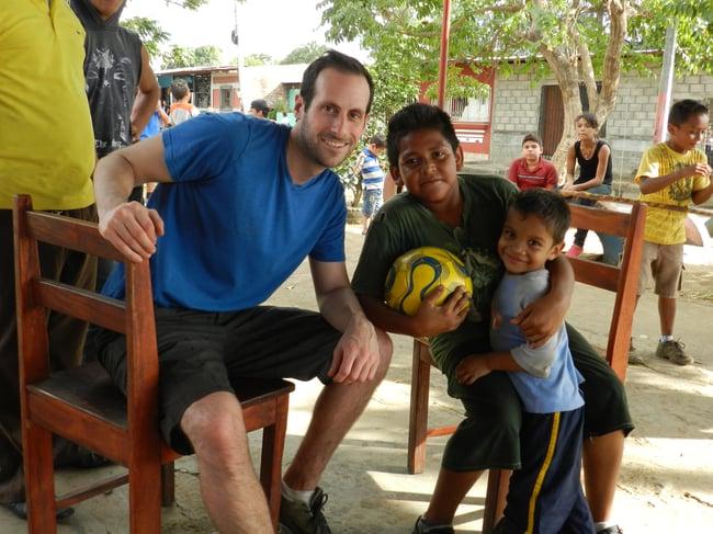 volunteering while teaching English abroad