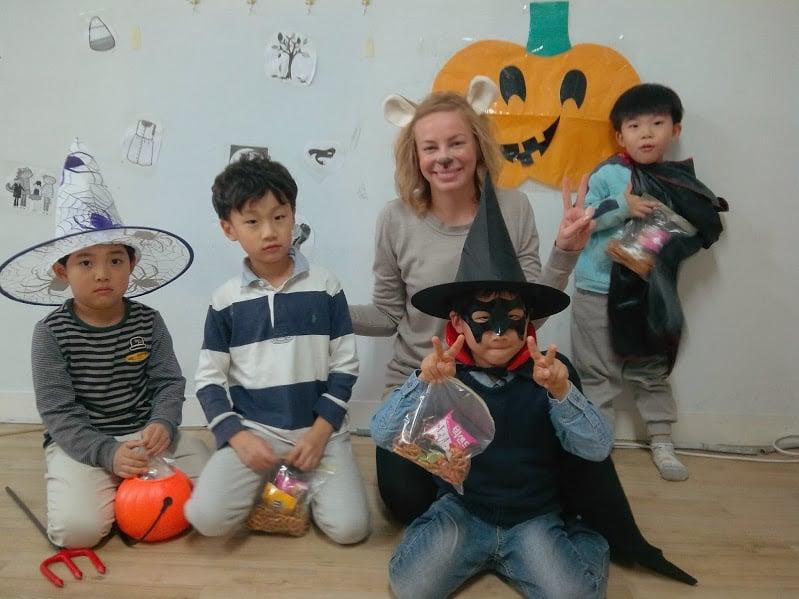 Celebrate Halloween while teaching English abroad