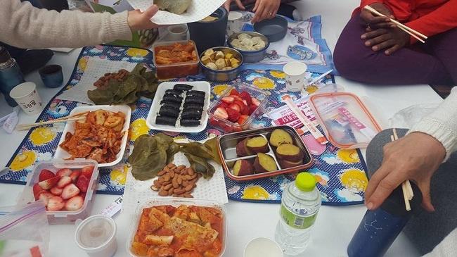 Food in Asia Korea While Teaching English