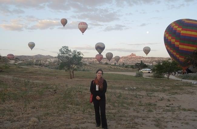 Visiting Cappadocia in Turkey