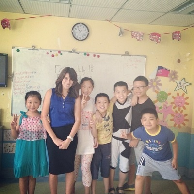Amanda Martin Teaching English in China
