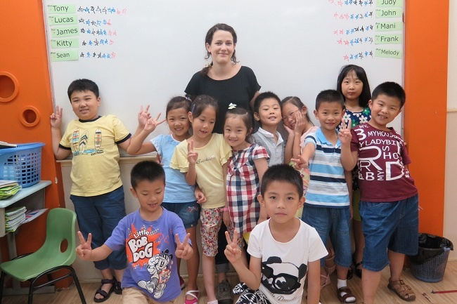 Teaching English in Shanghai China