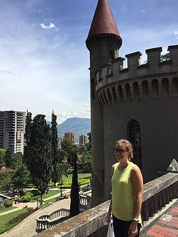 Teaching English in Colombia Caroline Cassard