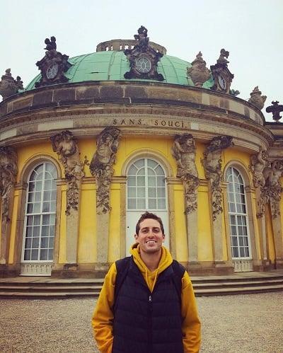 Conor O'Riordan Teaching English in Germany