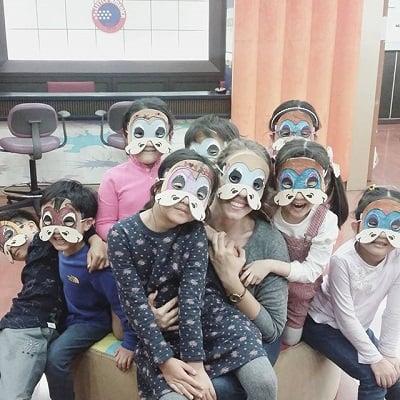 Elizabeth Feyh Teaching English in South Korea