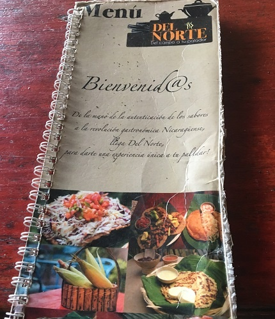 Teaching English in Nicaragua Restaurant