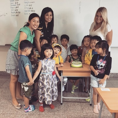 Jamie Bishop Teaching English in Thailand