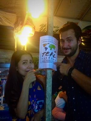 Kirsten Iverson International TEFL Academy Alumni Meetup Bangkok Thailand