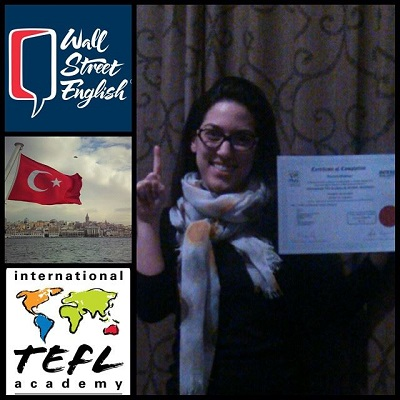 Pouneh Eftekhari Teaching English in Turkey