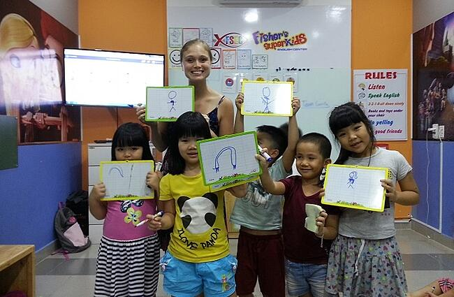 vietnam da nang teaching english