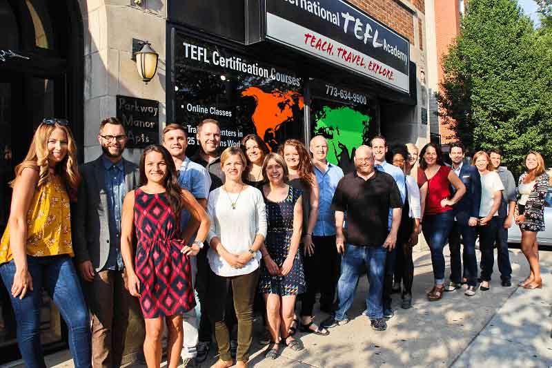 Who is International TEFL Academy?