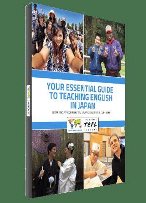 Best TEFL Ebook For Teaching English in Japan