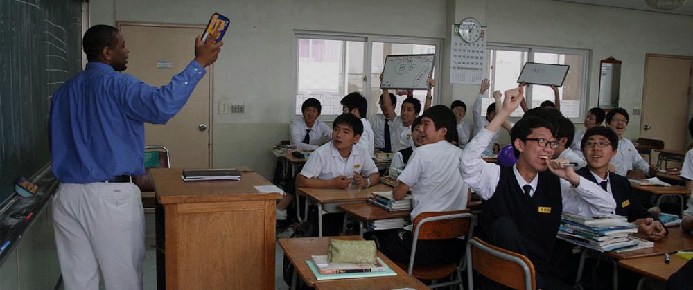 Teaching English abroad