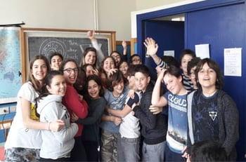 Rome, Italy TEFL Classroom