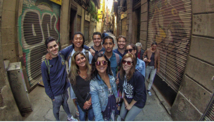 great selfie example while teaching English abroad 2