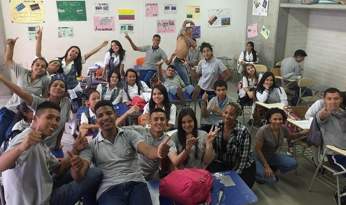 Is teaching English in Colombia safe?