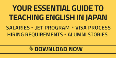 Get a free guide to teaching English abroad in Japan
