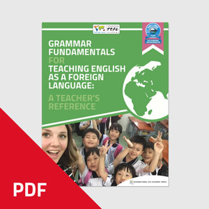 Grammar Fundamentals For Teaching English As a Foreign language