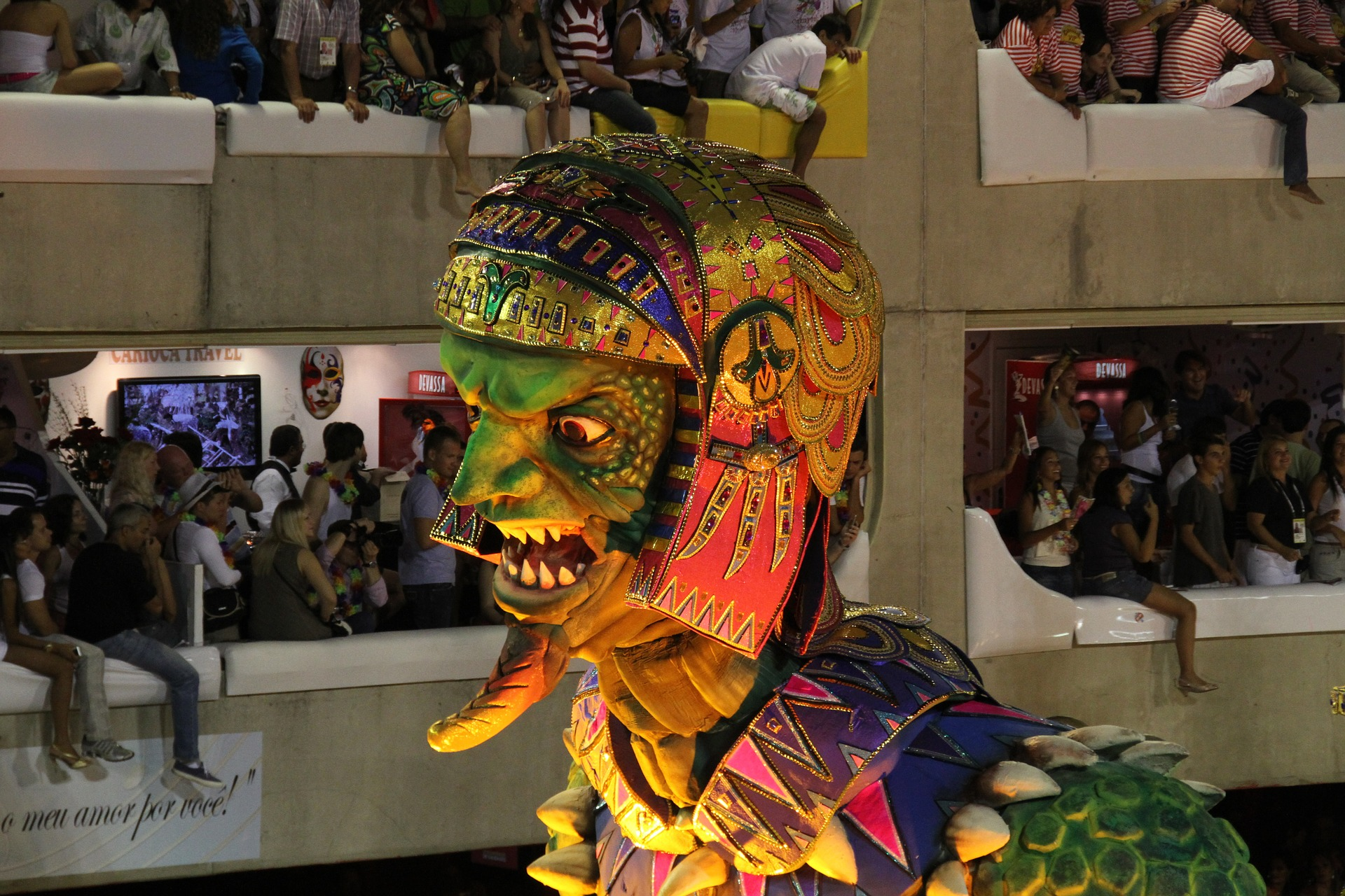 Brazil's Carnival - The World's Biggest Party! Celebrate In Person While Teaching English