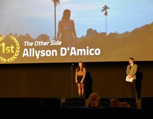Allyson-DAmico-Film-Fest-Win
