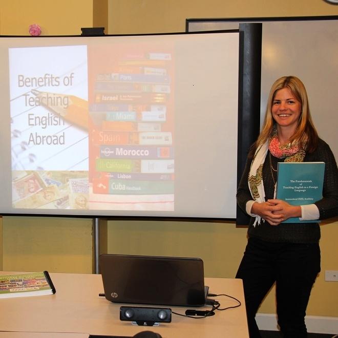 teach english abroad webcast